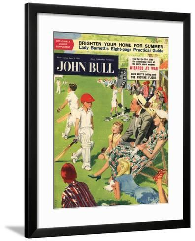 Front Cover of 'John Bull', June 1956--Framed Art Print
