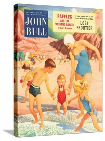 Front Cover of John Bull, July 1955--Stretched Canvas Print