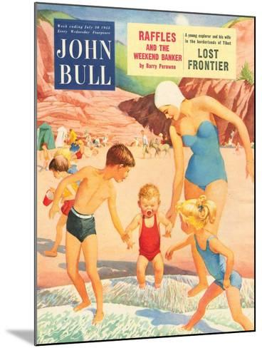 Front Cover of John Bull, July 1955--Mounted Giclee Print