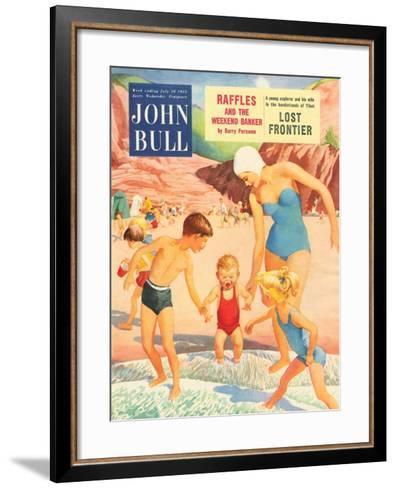 Front Cover of John Bull, July 1955--Framed Art Print
