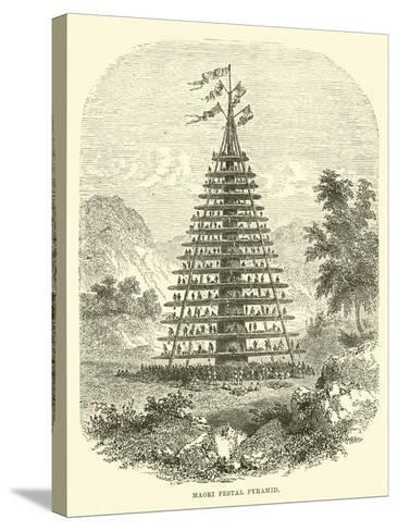 Maori Festal Pyramid--Stretched Canvas Print