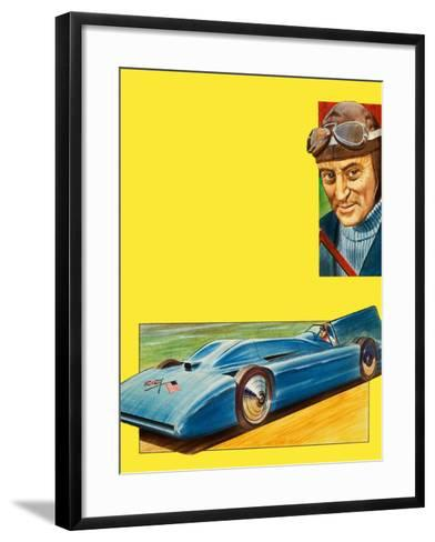 Donald Campbell--Framed Art Print