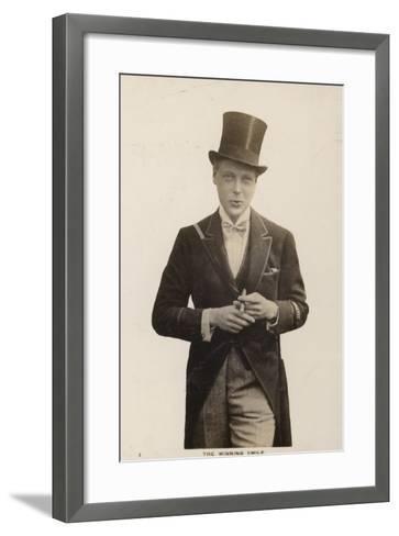 Edward VIII--Framed Art Print