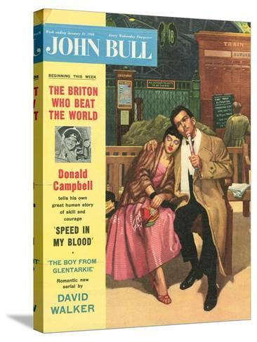 Front Cover of 'John Bull', January 1956--Stretched Canvas Print