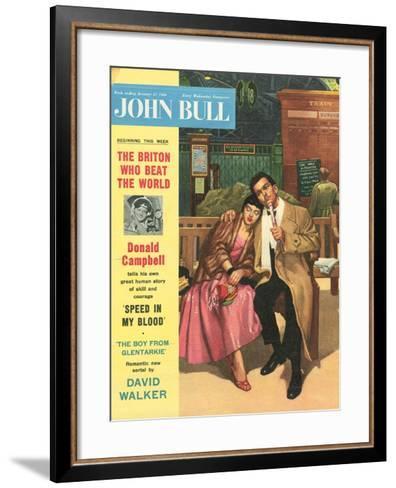 Front Cover of 'John Bull', January 1956--Framed Art Print