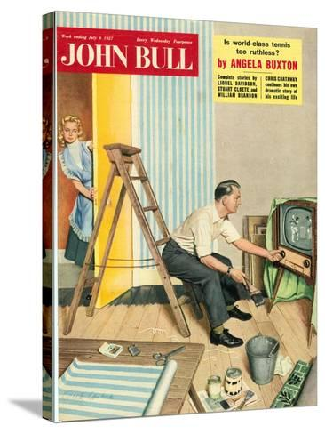 Front Cover of 'John Bull', July 1957--Stretched Canvas Print