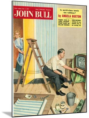 Front Cover of 'John Bull', July 1957--Mounted Giclee Print