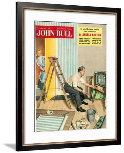 Front Cover of 'John Bull', July 1957--Framed Art Print