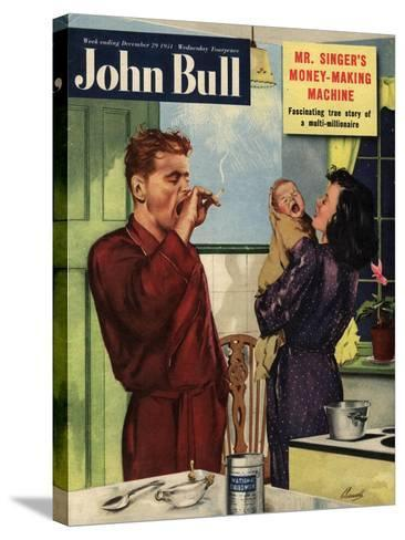 Front Cover of 'John Bull', September 1951--Stretched Canvas Print