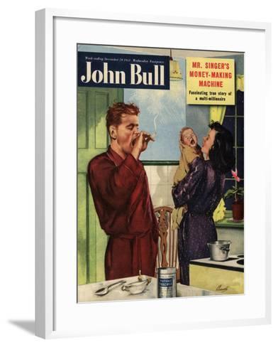 Front Cover of 'John Bull', September 1951--Framed Art Print
