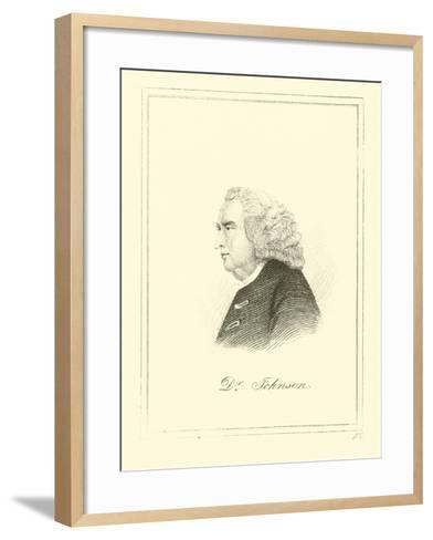Dr. Johnson--Framed Art Print