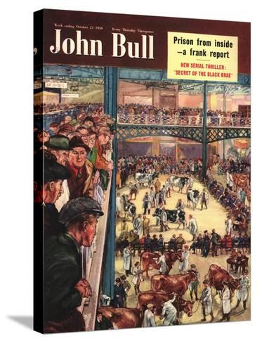 Front Cover of 'John Bull', October 1950--Stretched Canvas Print