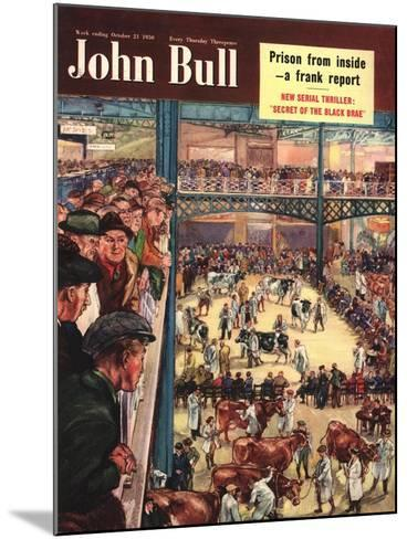 Front Cover of 'John Bull', October 1950--Mounted Giclee Print