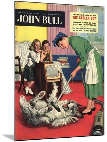 Front Cover of 'John Bull', February 1957--Mounted Giclee Print