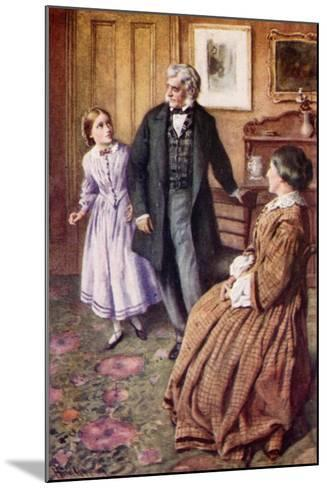 """Oh, Sir! They Do Care, Very, Very Much!""-Harold Copping-Mounted Giclee Print"