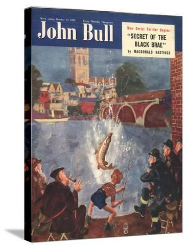 Front Cover of 'John Bull', October 1954--Stretched Canvas Print