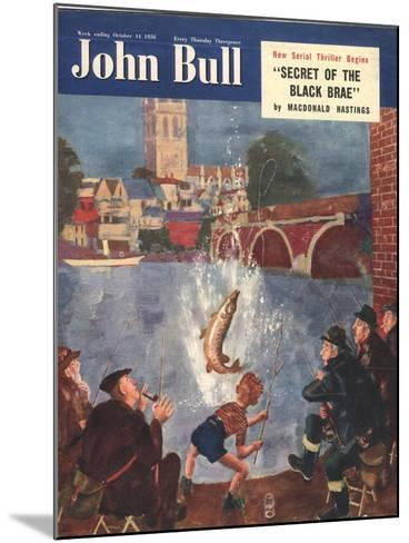 Front Cover of 'John Bull', October 1954--Mounted Giclee Print