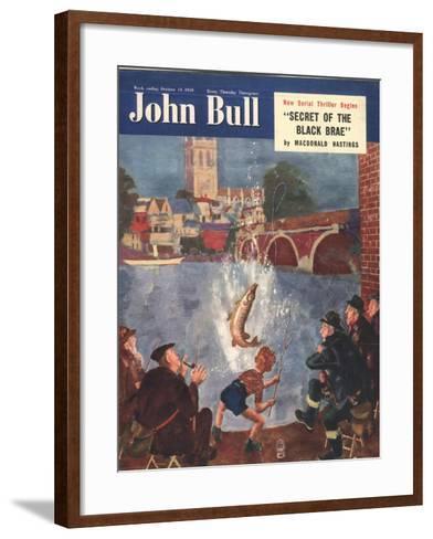 Front Cover of 'John Bull', October 1954--Framed Art Print