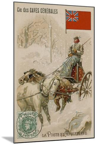 Cie Des Caves Generales Trade Card, Postal--Mounted Giclee Print