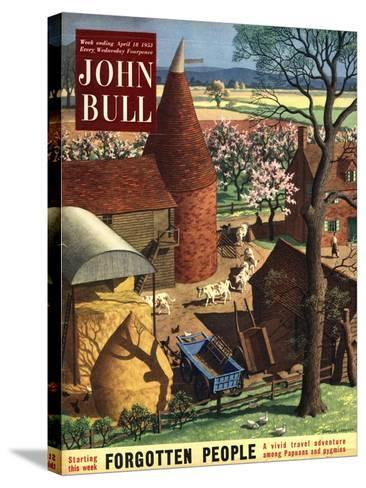Front Cover of 'John Bull', April 1953--Stretched Canvas Print