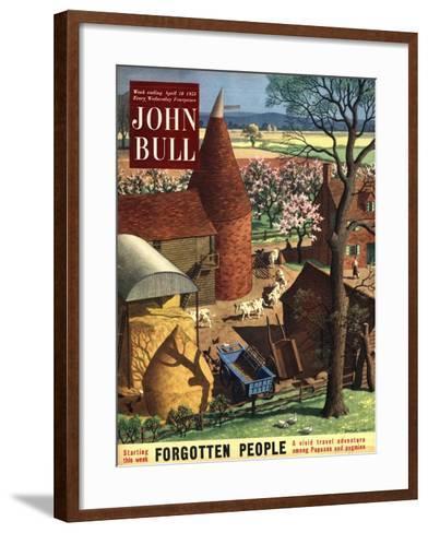 Front Cover of 'John Bull', April 1953--Framed Art Print