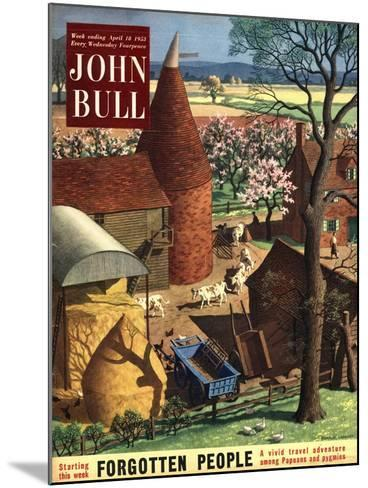 Front Cover of 'John Bull', April 1953--Mounted Giclee Print