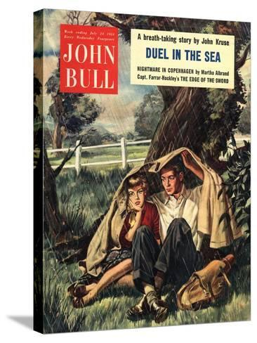 Front Cover of 'John Bull', July 1954--Stretched Canvas Print