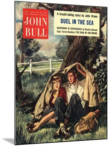 Front Cover of 'John Bull', July 1954--Mounted Giclee Print