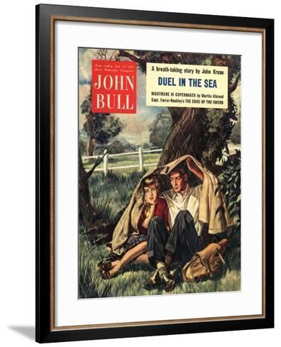 Front Cover of 'John Bull', July 1954--Framed Art Print