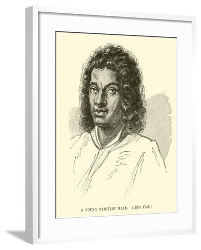 A Young Tahitian Male, after Cook--Framed Art Print