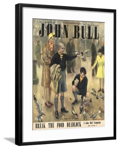 Front Cover of 'John Bull' Magazine, April 1947--Framed Art Print