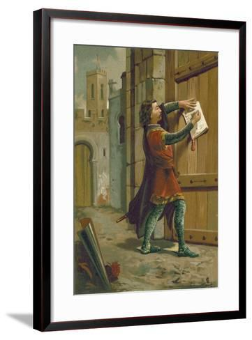 The Triumph of Ave Maria--Framed Art Print