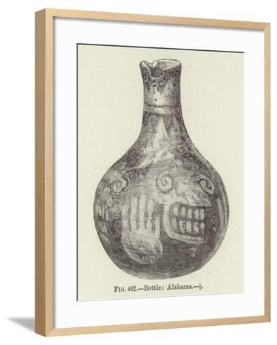Bottle: Alabama--Framed Art Print