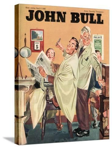 Front Cover of 'John Bull', April 1946--Stretched Canvas Print