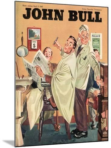 Front Cover of 'John Bull', April 1946--Mounted Giclee Print