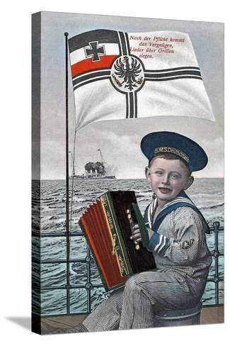 """""""After Duty Comes Pleasure..."""", 1915--Stretched Canvas Print"""