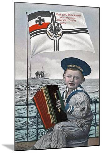 """""""After Duty Comes Pleasure..."""", 1915--Mounted Giclee Print"""