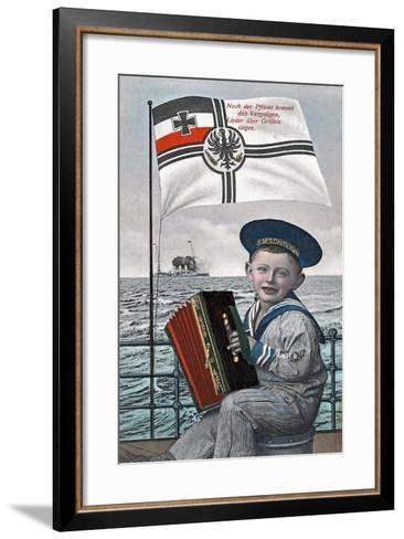 """After Duty Comes Pleasure..."", 1915--Framed Art Print"