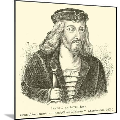 James I in Later Life--Mounted Giclee Print