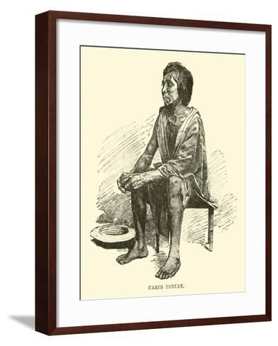 Carib Indian--Framed Art Print
