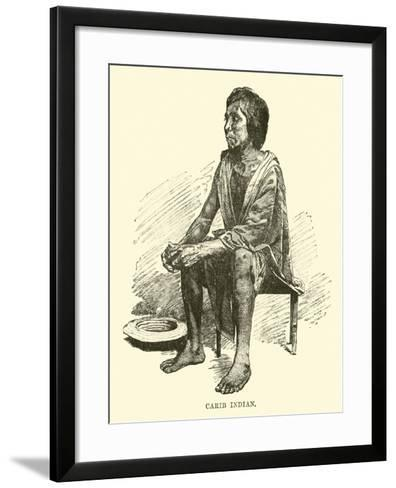 Carib Indian--Framed Art Print