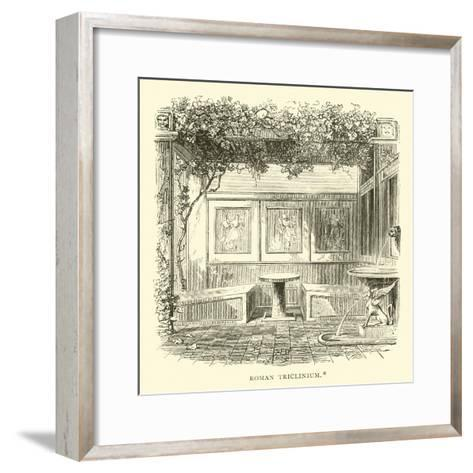 Roman Triclinium--Framed Art Print