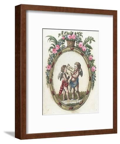 Live Happy--Framed Art Print
