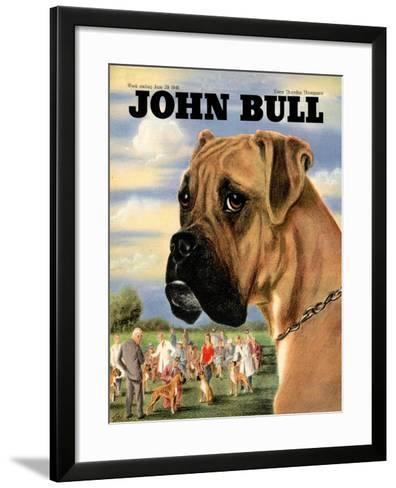 Front Cover of 'John Bull', June 1946--Framed Art Print