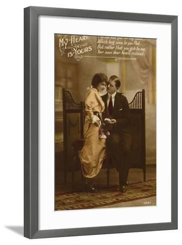 My Heart Is Yours--Framed Art Print