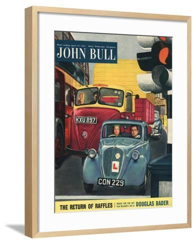 Front Cover of 'John Bull', April 1954--Framed Art Print