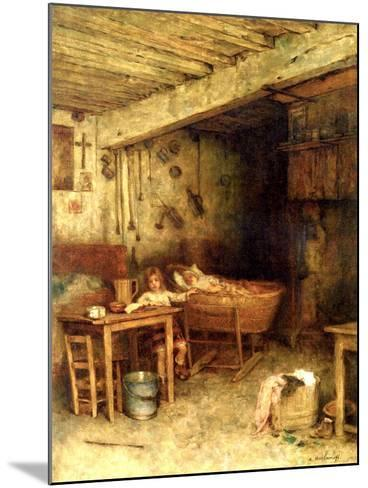 Interior of a Cottage-Alexei Alexevich Harlamoff-Mounted Giclee Print