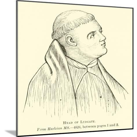 Head of Lydgate--Mounted Giclee Print