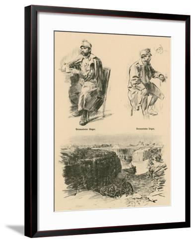Wounded Hungarians, Shot Down in Russian Poland-Wilhelm Gause-Framed Art Print