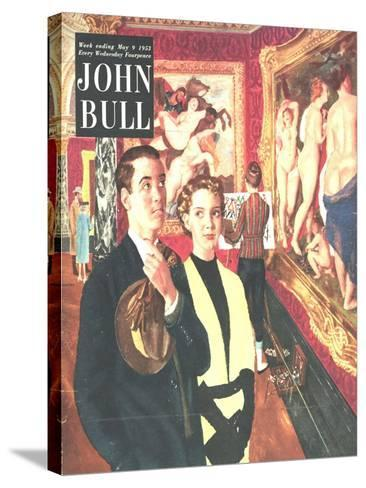 Front Cover of 'John Bull', May 1953--Stretched Canvas Print
